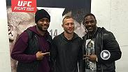 UFC superstar Cowboy Cerrone met with his biggest fans - Pittsburgh Steeler players Arthur Moats and Mike Mitchell - and then worked out for fans at Fight Night Pittsburgh Open Workouts. Don't miss Derek Brunson, Roan Carneiro, and Cowboy Alex Oliveira.