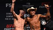 There was no bad blood between Donald Cerrone and Alex Oliveira at the Fight Night Pittsburgh weigh-in on Saturday afternoon. Check out the highlights of the event and don't miss Cowboy vs. Cowboy on Sunday at 9pm/6pm ETPT on FS1.