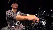 "Watch as Donald ""Cowboy"" Cerrone gets surprised with a brand new Harley-Davidson ahead of his main event battle at Fight Night Pittsburgh on Feb. 21, 2016."