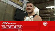 Michael Bisping gets ready for home with an almost-English breakfast, Gegard Mousasi goes for a fast drive, Thales Leites gets a home-cooked meal while getting to his ideal weight and more in Episode 1 of UFC Fight Night London Embedded.