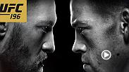 After agreeing to fight each other at welterweight on March 5 at UFC 196, Conor McGregor and Nate Diaz meet face-to-face for the first time at today's live press conference. Don't miss the event live from the UFC Gym in Torranca, CA at 4pm/1pm ETPT.
