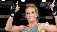Go behind the scenes and hear from Holly Holm before her mega fight against Ronda Rousey at UFC 193 last November. On Saturday Holm will defend her title for the first time against Miesha Tate at UFC 196.