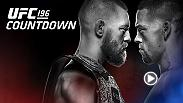 Go inside the training camps and behind the scenes with UFC 196 main event superstars Conor McGregor and Nate Diaz ahead of their welterweight showdown in Las Vegas on March 5. Tickets are still available and you can pre-order now at www.ufc.tv.