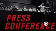 Watch live as the stars of the main and co-main event of UFC 196 meet for a pre-fight press conference on Thursday, March 3 at 9pm GMT from the David Copperfield Theater at MGM Grand.