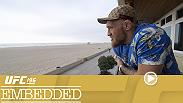 Nate Diaz continues to train with his brother Nick for his big fight this weekend, Holly Holm feels the love, Conor McGregor makes the trip to Las Vegas and more on Episode 3 of UFC 196 Embedded.