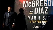 Watch the highlights from an entertaining and explosive UFC 196 prefight press conference featuring Conor McGregor, Nate Diaz, Holly Holm and Miesha Tate ahead of Saturday, March 5 fights in Las Vegas.