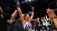 Miesha Tate became just the third fighter ever to wear the women's bantamweight belt. Tate submitted former champ Holly Holm with a rear naked choke in the final round at UFC 196 to earn the title she's been longing for.