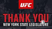 Media Conference Call for the result of the New York State Assembly passage of legislation to legalize and regulate professional mixed martial arts (MMA) in New York.