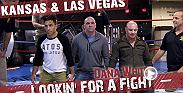 The guys meetup in Las Vegas where they get tased by a former SWAT team. Then they head to Kansas to do some farming, herd wild bison and watch a fight before they head back to Vegas again.