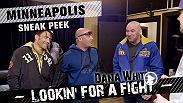 The boys head to Minneapolis to scout a heavyweight prospect at an action packed Legacy FC card. They also do some snowboarding, tour a brewery, visit a local BJJ gym and learn a death metal song that they will play live at a club. On YouTube now!