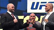 Joe Rogan previews Fight Night Zagreb's main event. Ben Rothwell declared war on the heavyweight division and said he will have the belt. Junior Dos Santos stands in the way in the UFC's first trip to Croatia on April 10 on FS1.