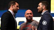 UFC Minute host Lisa Foiles looks back at UFC 199 Media Day in Los Angeles when Chris Weidman and Luke Rockhold exchanged their thoughts on what it takes to be a champion. Tickets for UFC 199 are on sale now.