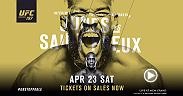 Jon Jones doesn't normally take fights on short notice. But with Daniel Cormier forced to withdraw from  UFC 197 Jones delivered for his fans and accepted a fight for the interim belt against Ovince Saint Preux. The action starts April 23 on Pay-Per-View.