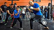Glover Teixeira, Rashad Evans, Khabib Nurmagomedov and Darrell Horcher put on a show for fans at Fight Night Tampa Open Workouts. Then UFC.com caught up with the fighters for a few minutes afterwards.