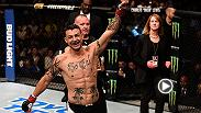 Featherweight veteran Cub Swanson made his return after suffering a broken jaw in his last fight to outlast Hacran Dias by unanimous decision. He spoke backstage about his performance with UFC correspondent Megan Olivi.