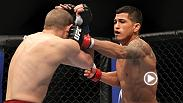 Anthony Pettis earned his first UFC knockout victory at UFC 144 when he put away Joe Lauzon in the opening round. Don't miss Pettis vs. Edson Barboza on the main card at UFC 197 on Saturday live on Pay-Per-View.