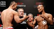 Jacare Souza continued his streak of first round finishes when he defeated Yushin Okami by TKO. Watch Souza face Vitor Belfort in the co-main event at UFC 198 on May 14 in Curitiba, Brazil.