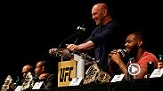 Re-live the best moments from the UFC 200 press conference at Madison Square Garden in NYC featuring headliners Jon Jones, Daniel Cormier, Jose Aldo, Frankie Edgar, Miesha Tate and Amanda Nunes on April 27, 2016.