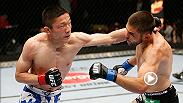 Kyoji Horiguchi is training in Tokyo, Japan and wants to be the fighter that makes the UFC big in Japan. Horiguchi headlines the UFC FIGHT PASS Prelims against Neil Seery on Sunday at Fight Night Rotterdam.