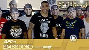 Fabricio Werdum lunches with Beto Richa, the governor of Parana. Stipe Miocic puts the finishing touches on his training camp, Jacare Souza hits the gym, and Vitor Belfort enjoys time at home. Cris Cyborg arrives in Curitiba for her UFC debut.
