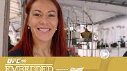 "Cris Cyborg spends Mother's Day with family, while Leslie Smith checks ""acai"" off her Brazilian bucket list. Corey Anderson and Vitor Belfort arrive in Curitiba. Stipe Miocic gets a workout in and Fabricio Werdum visits a friend's for fogo de chao."