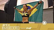 The Brazilian stars of UFC 198 receive a boost from fans at open workouts, while Stipe Miocic receives a less-than-warm welcome. The fighters also begin their weight cut regimens, which range from handball practice to breathing exercises.