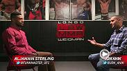 Aljamain Sterling sits down with Jon Anik at Longo-Weidman MMA, Sterling's home gym in New York, to discuss his potential rise up the bantamweight rankings.