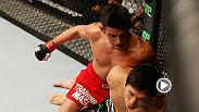 Dominick Cruz earned himself his first UFC knockout victory against Takeya Mizugaki in Round 1 at UFC 178.  Don't miss Cruz vs. Faber on June 4 at UFC 199 on Pay-Per-View.