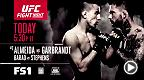 Fight Night Las Vegas kicks off today at 7pm/4pm ETPT on FS1. Cody Garbrandt faces off against Thomas Almeida while Renan Barao steps into the Octagon against Jeremy Stephens. Don't miss this fight!