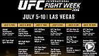 It's here! The 2016 UFC International Fight Week schedule has been released. UFC Minute host Lisa Foiles takes you through the big events taking place July 5-10 including UFC Fan Expo and UFC 200 in Las Vegas.