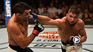 Jeremy Stephens spoiled the featherweight debut of Renan Barao at Fight Night Las Vegas. Stephens stamina was a factor as he landed more significant strikes and avoided take downs.