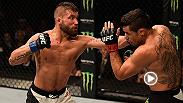 Jeremy Stephens got back on the winning track at Fight Night Las Vegas. Stephens defeated former bantamweight champ Renan Barao by unanimous decision.