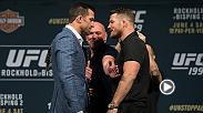 Joe Rogan previews UFC 199's main event between Luke Rockhold and Michael Bisping. Rockhold defends his middleweight belt for the first time in a rematch against rival Bisping.