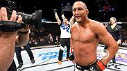UFC legend Dan Henderson talks backstage about his highlight reel KO performance against Hector Lombard at UFC 199 on Pay-Per-View in the Fabulous Forum in Inglewood, California.