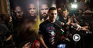 Watch the Fight Night Ottawa Q&A with Chris Weidman, Aljamain Sterling and Stevie Ray live from TD Place Arena on Friday, June 17 at 8:30pm BST.