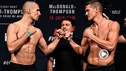Re-live the best moments from Friday's weigh-in at Fight Night Ottawa, featuring Rory MacDonald, Stephen Thompson, Donald Cerrone and more.