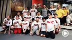 Fight Night Ottawa: Weidman, Laprise & Ray train with Special Olympic athletes