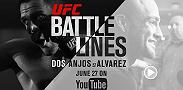 Get an intimate look at the lives of the two men training for their upcoming UFC lightweight title fight, champion Rafael Dos Anjos and challenger Eddie Alvarez. Streaming on YouTube on June 27.