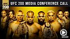 UFC 200: Cormier vs. Jones 2 Conferencia Telefónica
