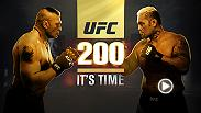 Heavyweight superstar Brock Lesnar returns to the Octagon to face knockout artist Mark Hunt. Go inside their gyms, lives and minds as the clock ticks down to this momentous night at UFC 200 live from Las Vegas only on Pay-Per-View.