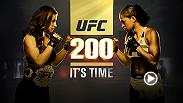 Newly-crowned women's bantamweight champion Miesha Tate looks to cement legacy vs Brazilian finisher Amanda Nunes. Go inside their gyms, lives and minds as the clock ticks down to this momentous night at UFC 200 live from Las Vegas only on Pay-Per-View.