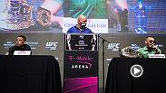 Watch the UFC 202 pre-fight press conference highlights as Conor McGregor and Nate Diaz met on stage on Thursday for the first time since UFC 196.