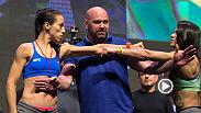 Watch the highlight's from Thursday's The Ultimate Fighter Finale weigh-in, featuring stars Joanna Jedrzejczyk and Claudia Gadelha. Don't miss the event on July 8 on FS1.