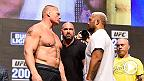 UFC 200: Lesnar vs Hunt and Tate vs Nunes Weigh In Face Offs