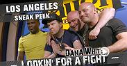 Din Thomas, Matt Serra and UFC President Dana White hit Los Angeles Special appearances by David Spade, Nick Swardson, Bryan Callen, Adam Hunter, Travis Barker, Laura Prepon, Nate Diaz, The Game and Frank Grillo.