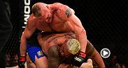 Brock Lesnar won in his return to the Octagon at UFC 200. Lesnar deployed his signature ground-and-pound to defeat Mark Hunt by unanimous decision.