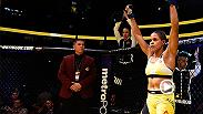 Amanda Nunes took the women's bantamweight championship from Miesha Tate at UFC 200. Nunes knocked Tate to the ground and earned a submission win in the first round.
