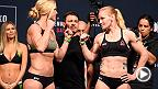 Watch the highlights from Friday's Fight Night Chicago official weigh-in, featuring stars Holly Holm, Valentina Shevchenko, Edson Barboza and Gilbert Melendez.