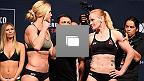 UFC Fight Night Holm vs Shevchenko Weigh-In Gallery