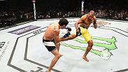 Edson Barboza dominated at Fight Night Chicago by damaging Gilbert Melendez with leg kicks. Barboza earned a unanimous decision for his second consecutive win.